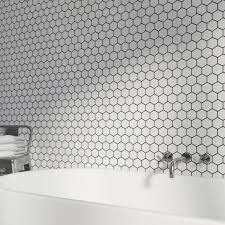 british ceramic tile mosaic hex white gloss tile 300mm x 300mm 1 free delivery british ceramic tile mosaic hex white gloss tile 300mm x 300mm 1