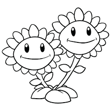 Plant Vs Zombies Coloring Pages Plants Vs Zombies Coloring Pages