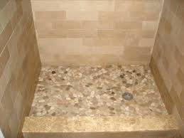 pebble shower floor pros and cons pebble tile shower floor installation how to seal pros and