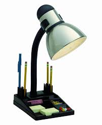 com satco s 76 356 organizer desk lamp steel black home improvement