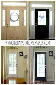 paint interior doorsPainting Interior Doors Black  The Happier Homemaker
