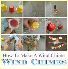 How To Make A Wind Chime Yogurt Cup Wind Chimes Fspdt