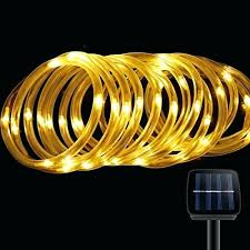 Lowes Led Rope Lights Delectable Solar Led Rope Lights Solar Powered Led Rope Lights Solar Led Rope