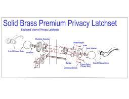 rockwell premium solid br helmsley privacy set durable door hardware door handles exterior door handle