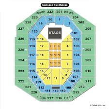 Beef And Boards Seating Chart Bankers Life Fieldhouse Indianapolis In Seating Chart View