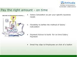 Payment Advice Slip Adorable Payroll Introduction In Tally ERP48