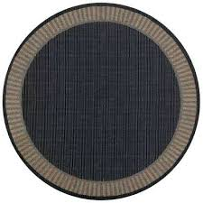 9x6 outdoor rugs wicker stitch black cocoa 9 ft x 9 ft round indoor home decorators 9x6 outdoor rugs