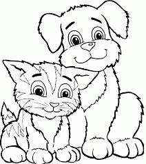 Print dog coloring pages for free and color our dog coloring! Free Coloring Pages Dog And Kat Coloring Home