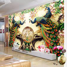 Custom 3D Wall Mural Wallpaper 3D Non ...