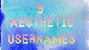 Musically username ideas Cute Aesthetic Usernames Youtube Aesthetic Usernames Youtube