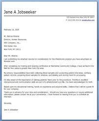 Phlebotomy Cover Letter Stunning Cover Letter Phlebotomy Creative Resume Design Templates Word