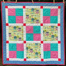 Cheeky Cognoscenti: My Finished Quilts & Beginner Quilting Class Sample, 36