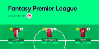 2018/19 Fantasy Premier League First Draft Gameweek 1 - FF Community