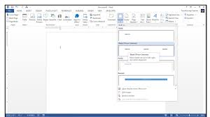 How To Insert Page Numbers Into Headers Or Footers In Word 2013