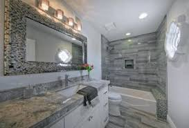 Contemporary Full Bathroom with European Cabinets, Undermount Sink, Flush,  High ceiling, Eramosa