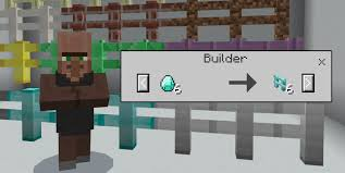 Minecraft fence Gate The Builder Is New Villager Type Which Can Be Found Spawning In Villages For Example If You Want Diamond Fence Then It Will Cost You Some Diamonds And Mcpe Dl More Fences Addon Minecraft Pe Mods Addons