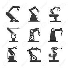 産業用ロボットのアイコン