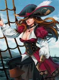 Anime Pirate Girl Drawing Porn Images
