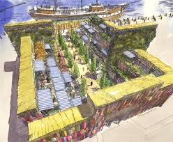 container garden plans. diarmuid gavin plans giant shipping container garden for gateshead