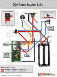 wiring diagrams mod making information page 2 20a naos raptor wiring diagram · 20a naos raptor