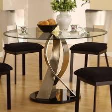 ideas on attractive round glass dining room tables with nice glass dining room table sets costway 5 piece