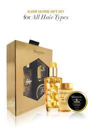 the gift of luxury the elixir ultime indulgent oil gift set