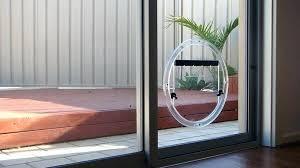 sliding glass pet door secure pet door pet doors safe and secure secure sliding glass dog