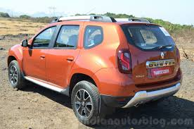 2018 renault duster india launch. interesting duster 2016 renault duster facelift amt rear quarter review on 2018 renault duster india launch