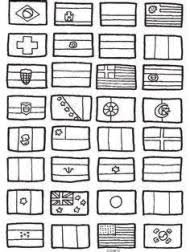 Kralenplank Vlag Spanje Thema Op Reis Pinterest Resume Simple