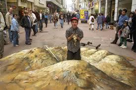 Incredible 3d Sidewalk Chalk Art Gallery Ebaums World