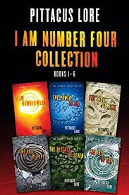 i am number four collection books 1 6 i am number four