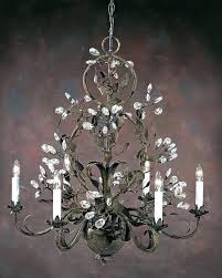 white wrought iron chandelier chandeliers wrought iron crystal chandelier chandeliers wrought iron crystal six light hand