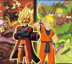 Naruto and Goku Wallpapers on WallpaperDog