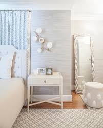 white leaning floor mirror. Modren Mirror Amazing White Leaning Floor Mirror In Furniture Gray Bedroom With Blue  Drapes Behind Bed Transitional
