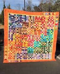 8 best Geese Migration Quilt images on Pinterest | Colours, Autumn ... & Bright colors in this quit using my Geese Migration Quilt Adamdwight.com