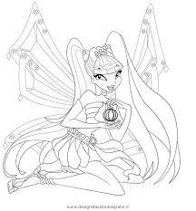 Disegno Musaenchantix Personaggio Cartone Animato Da Colorare