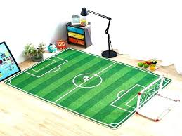 football rugs man themed area nfl field