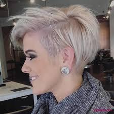 Haar Ideen Kurzhaarfrisuren Damen 2018 Trend Blond