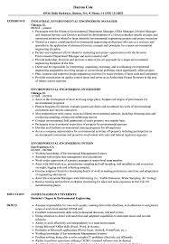 Environmental Engineer Resume Sample Environmental Engineer Resume Sample Shalomhouseus 14