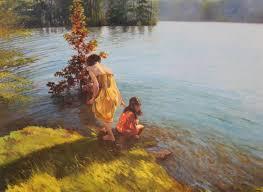 oil paintig by enrique amat canvas size 65x48