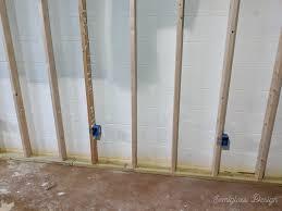 tips for framing basement walls