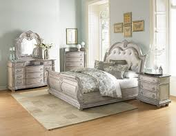 Bilbao White Bedroom Set with Marble Tops - CB Furniture