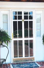 new decorative security storm doors