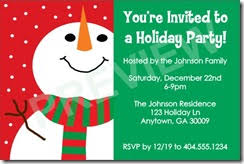 holiday party invitation template christmas party invitations archives