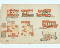 elevations and plans for the turner house 260 stanley street north adelaide