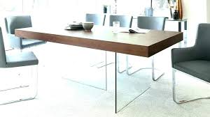 modern round extendable dining table modern round glass dining table dark wood legs seats top extendable