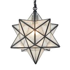 Glass Star Light 14 Moravian Star Pendant Light Seeded Glass Star Lights With Hanging Chain