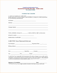 Sample Credit Card Authorization Form   Shannonbroder