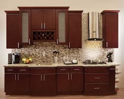 modern cherry wood kitchen cabinets. Image Of: Warm Cherry Kitchen Cabinets Modern Wood D