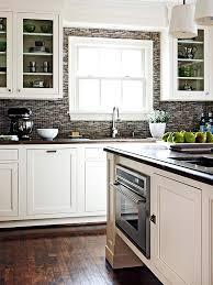 kitchen backsplash white cabinets. Contrasting Kitchen White Cabinets And Dark Grey Backsplash Throughout Prepare 8 C